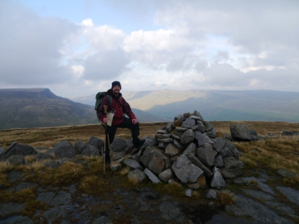 On the summit of Swarth Fell