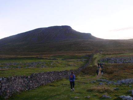 Pen-y-Ghent - the first peak of the day