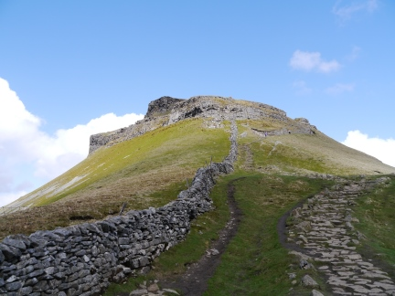 Pen-y-Ghent from the Pennine Way