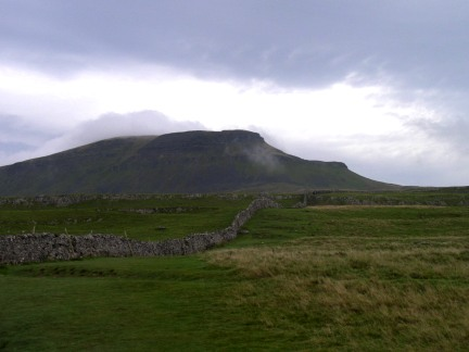 Pen-y-Ghent from below Brackenbottom Scar