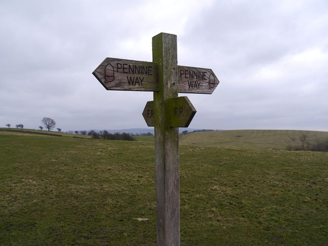 Joining the Pennine Way