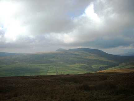 Plover Hill and Pen-y-Ghent from Horse Head