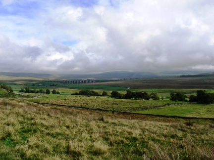 Ribblehead from just above Bruntscar