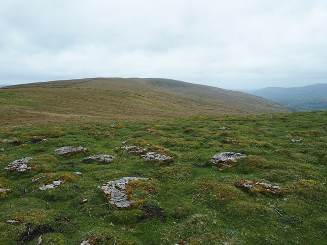 Looking back along Rise Hill from Snaizwold Fell