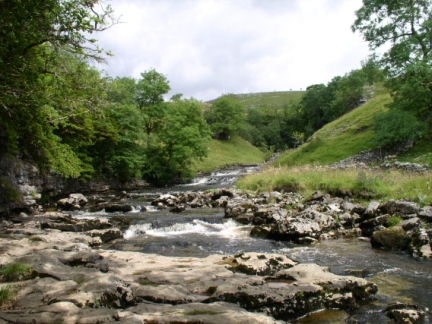 The River Twiss above Thornton Force