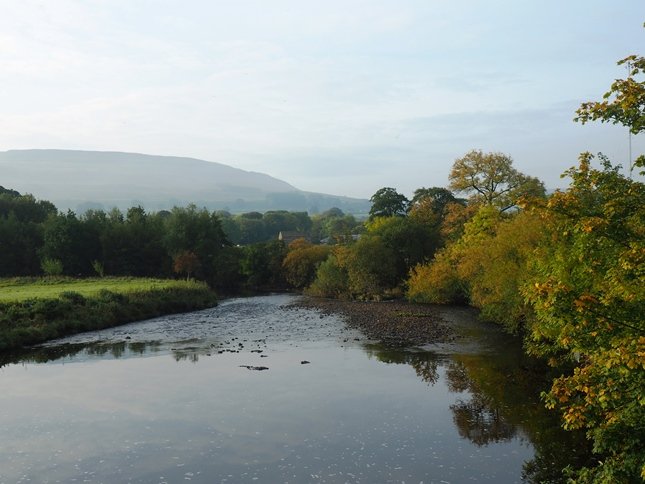 The River Ure from Haylands Bridge
