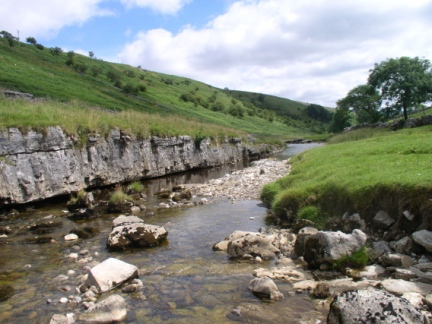 The River Wharfe in Langstrothdale