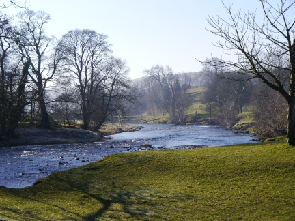 The River Wharfe below Bolton Abbey