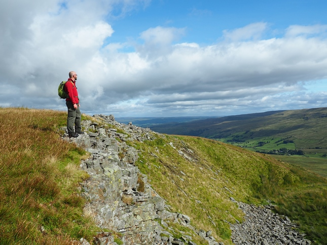 On the small crag of Scriddles