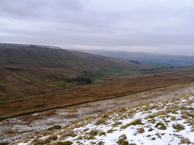 Sleddale from the Cam High Road