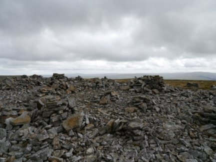 There were the remains of a number of cairns on Stony Hill