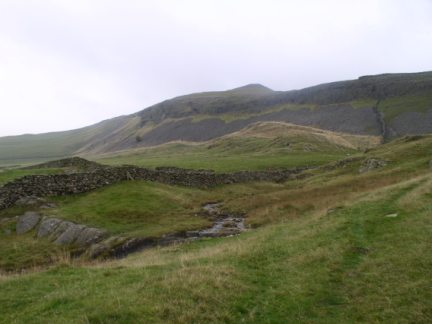 Looking up towards Studrigg Scar