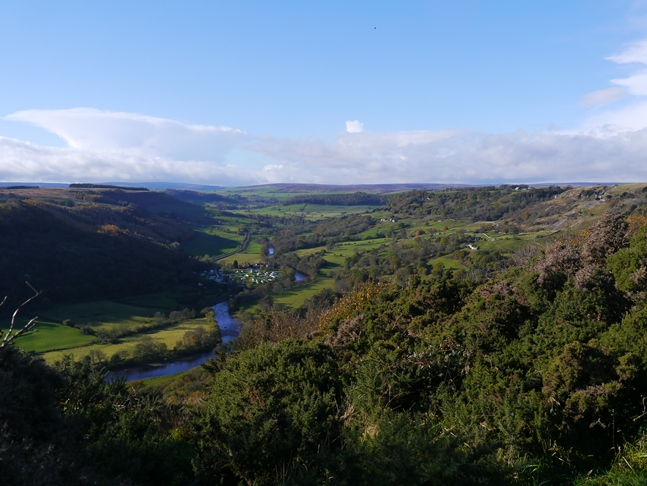 Swaledale from Whitcliff Scar