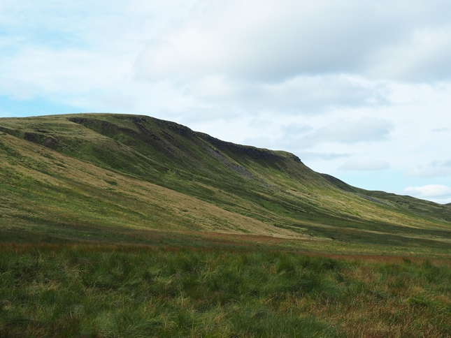 Looking back up at Swarth Fell