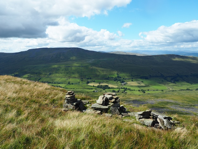 The Three Men of Mallerstang above Hangingstone Scar