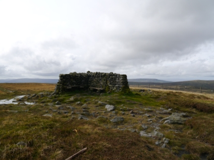 The summit of Great Shunner Fell