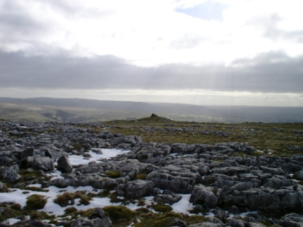 The top of Pikedaw