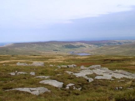 Looking north east into the upper reaches of Nidderdale