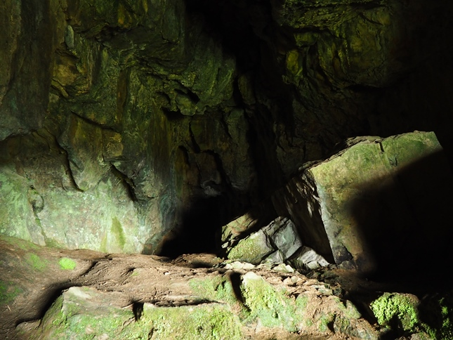 Another shot of the interior of Victoria Cave
