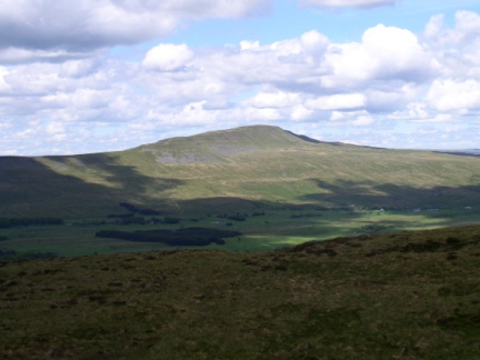 Whernside, the highest summit in the Yorkshire Dales
