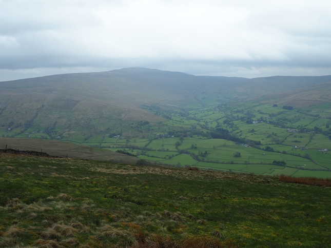 Whernside and Deepdale from Rise Hill