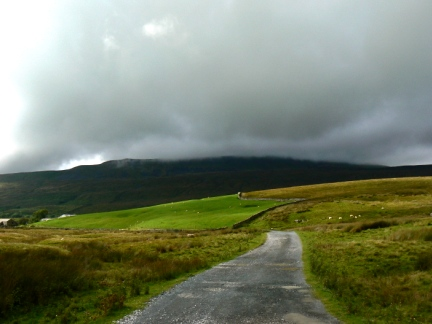 Looking back at Whernside