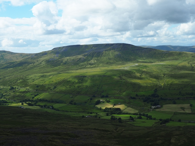 Wild Boar Fell from High Loven Scar