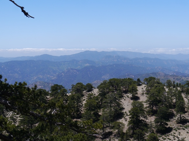 Another view of the western Troodos Mountains