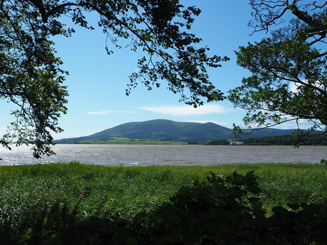The view of Criffel from the other side of the Nith estuary