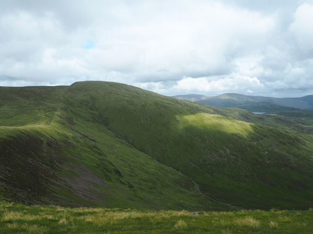 Merrick, the highest point in the Southern Uplands of Scotland