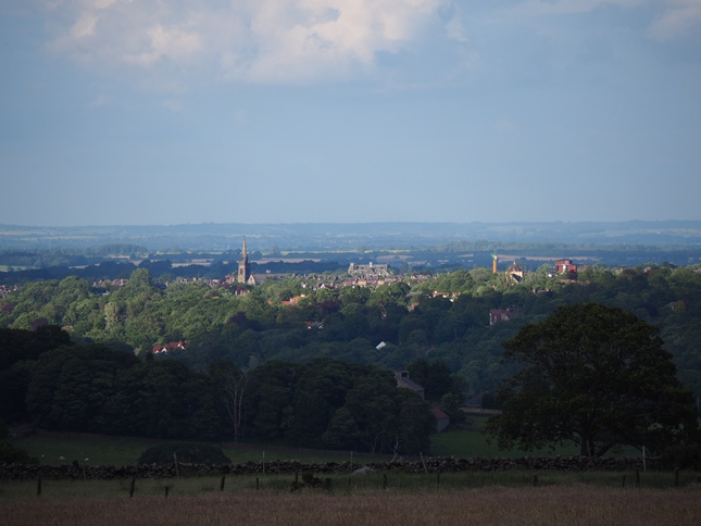 Another view of Harrogate from Haverah Park