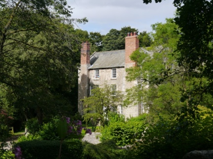A glimpse of Markington Hall