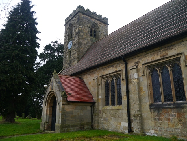 St Mary's Church in Myton-on-Swale