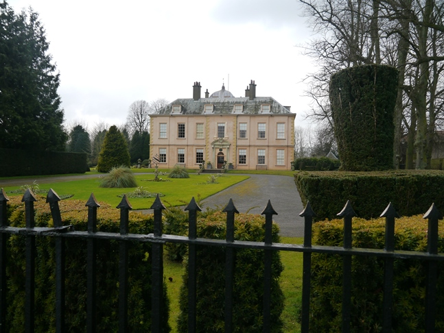 Myton Hall, once home to the Stapylton family