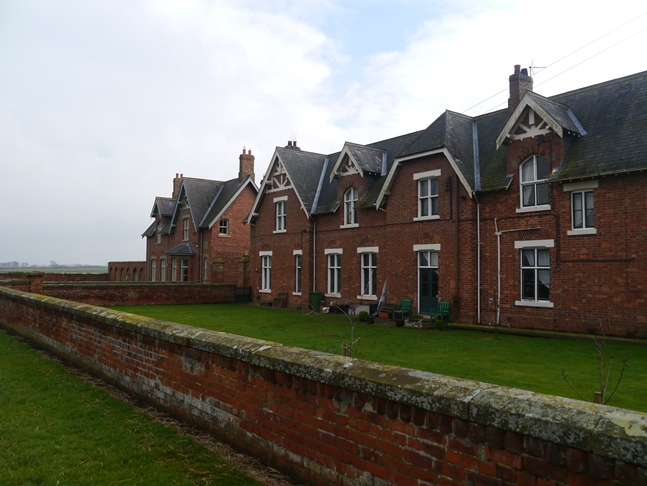 The rather grand Myton Home Farm