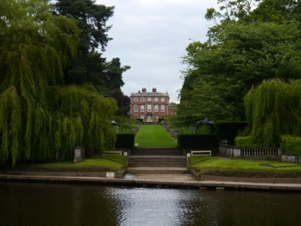 Newby Hall from the riverside path