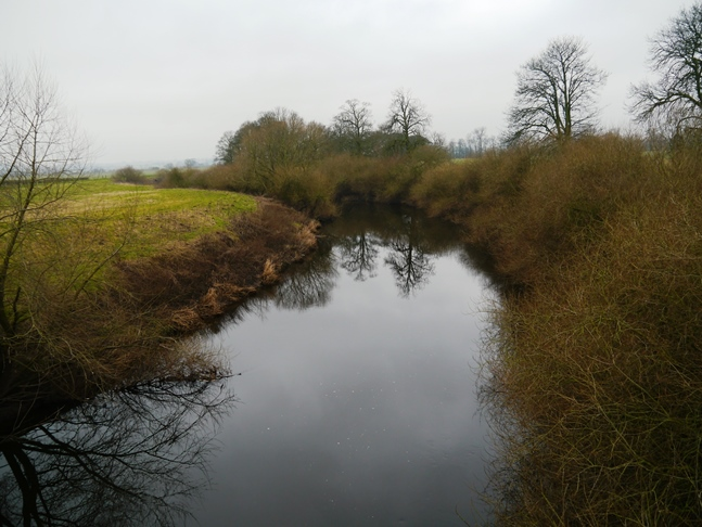 The River Swale from Myton Bridge