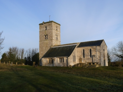 All Saints Church with its Anglo-Saxon tower