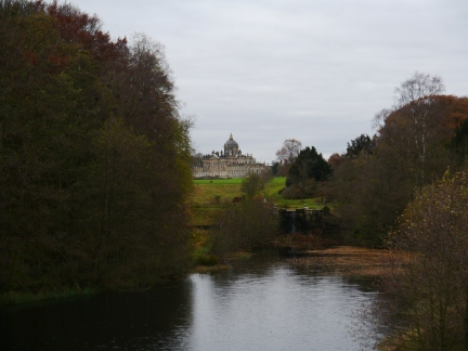 Castle Howard from New River Bridge