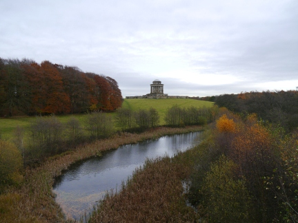 The Mausoleum from New River Bridge