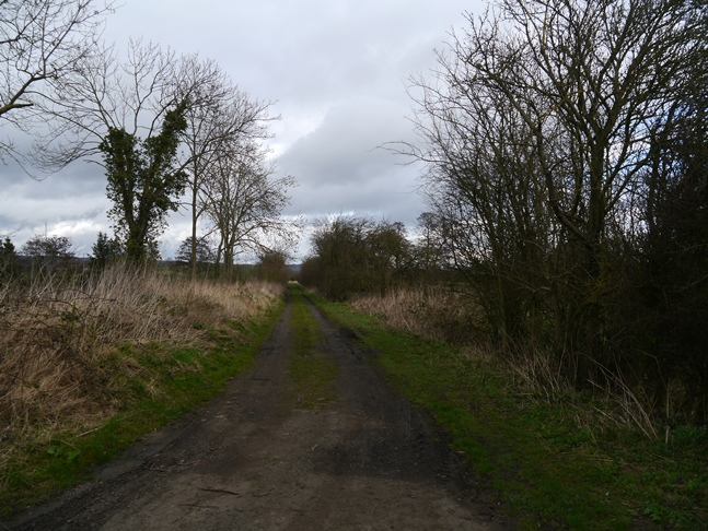 The old Malton - Thirsk railway line