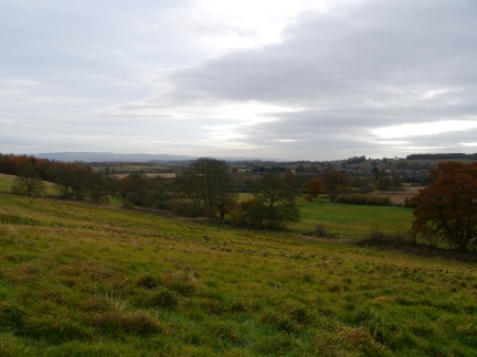 Looking back towards Welburn from above Moor Houses