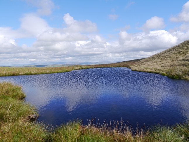 The little tarn below the top of Archer Hill