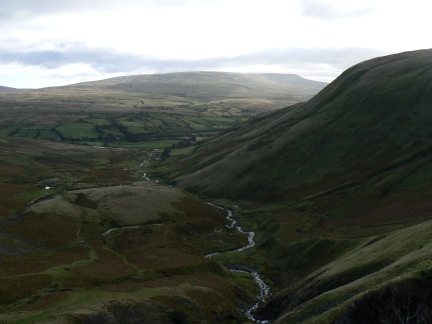 Cautley Holme Beck from half way up Cautley Spout