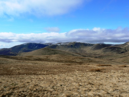 The Howgills from Harter Fell