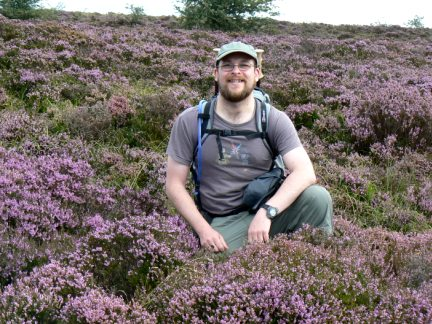 Amongst the heather of Tarn Moor
