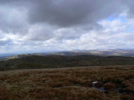 A view of Lakeland from Simon's Seat