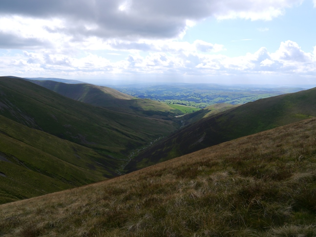 The view along Long Rigg Beck