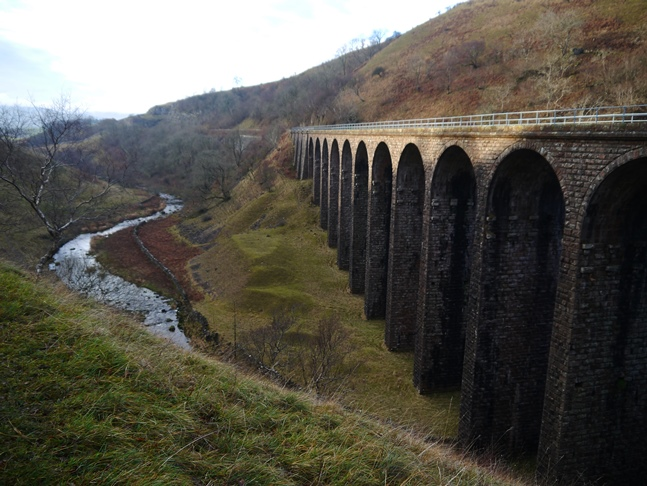 Smardalegill Viaduct and Scandal Beck