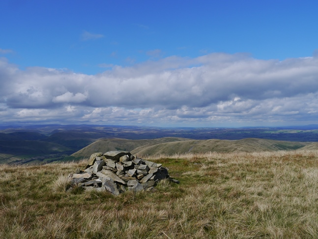 The top of Fell Head